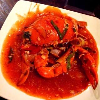 Kepiting saus padang -  dari Praoe Seafood (Riau) di Riau |Bandung