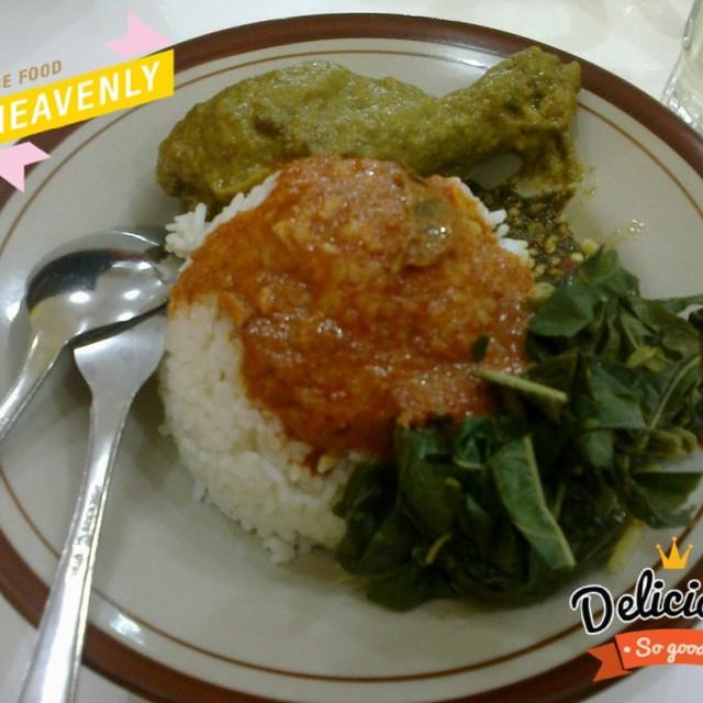 Nasi Padang -  dari RM. Padang Bungo Palo di Asem Gede |Padang - Yogyakarta