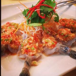 涼拌生蝦 -  dari Mae Kung Thai Restaurant (大安區) di 大安區 |Taipei
