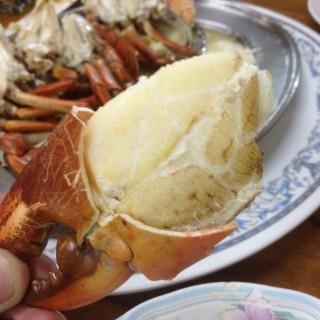 Streamed Black crab -  dari Daeng Seafood (อ.เมืองสมุทรสงคราม) di อ.เมืองสมุทรสงคราม |Others