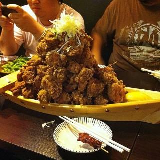 ไก่ทอดคาราเกะ - 位於คลองตันเหนือ的Chiba Cham (คลองตันเหนือ) | 曼谷