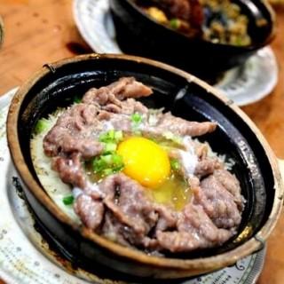 窩蛋牛肉煲仔飯 - Western District's 坤記煲仔小菜 (Western District)|Hong Kong