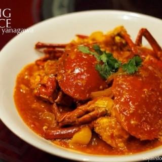 辣子活螃蟹  Live Crab with Chili Sauce -  dari Shang Palace (Sudirman) di  |Jakarta