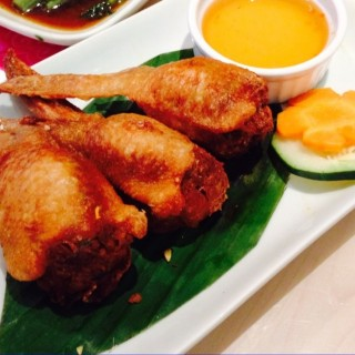 Stuffed chicken wings -  dari My Thai Kitchen (Cubao) di Cubao |Metro Manila