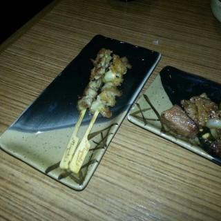 燒雞軟骨,燒牛柳粒 - 's Urawa Japanese Restaurant (Sheung Wan)|Hong Kong