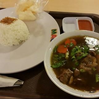 Sop buntut lobak -  dari Mazjana Soup Corner (Kelapa Gading) di Kelapa Gading |Jakarta