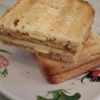 Kaya Butter Toast - Grogol's QQ Kopitiam (Grogol)|Jakarta