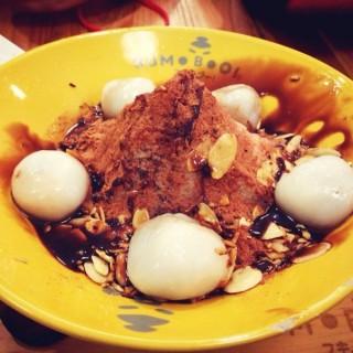 Nutella Bomb kakigori -  dari Sumoboo (Sunter) di Sunter |Jakarta