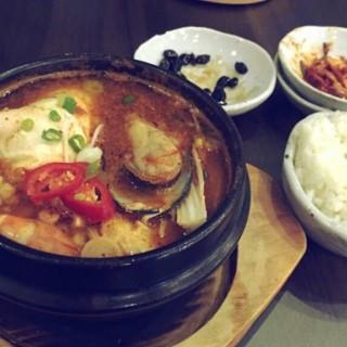 korean seafood soup -  dari Kung (Senayan) di Senayan |Jakarta