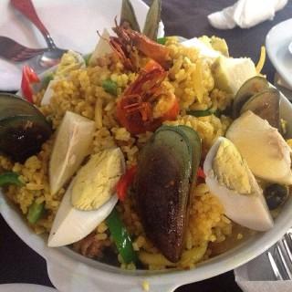 Seafood Paella - 位於Lucena City的Eduvigis Bar & Restaurant (Lucena City) | 其他省份