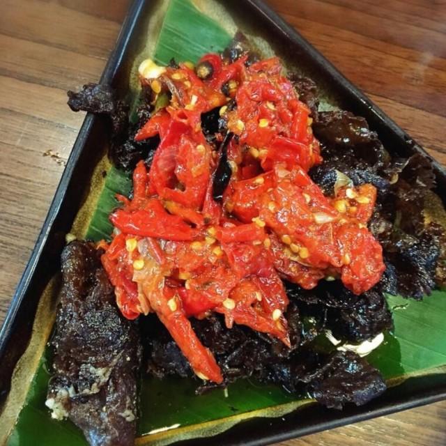 Dendeng Balado  - Remboelan Indonesian Soul Food - Restaurant - Kuningan - Jakarta