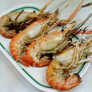 กุ้งเผา - 位于สัมพันธวงศ์的T&K Seafood (สัมพันธวงศ์) | 曼谷