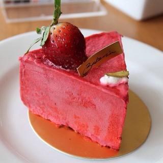 Pink youghurt cake - Slipi's Bakerzin (Slipi)|Jakarta