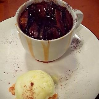 Hot lava cake -  dari Kitchenette (Slipi) di Slipi |Jakarta