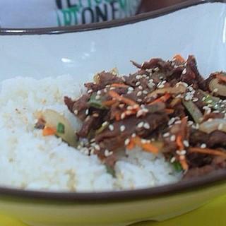 Beef Bulgogi - Manila's Happy Tilapia (Manila)|Metro Manila