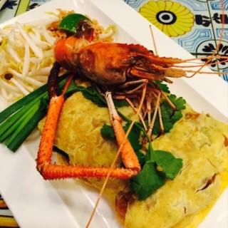 ผัดไทยกุ้งแม่น้ำ - Khlong Toei Nuea's Mix Restaurant & Bar (Khlong Toei Nuea)|Bangkok