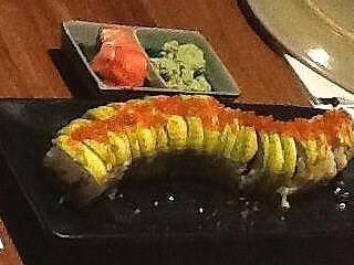 Caterpillar Roll -  dari Poke Sushi (Dharmawangsa) di Dharmawangsa |Jakarta