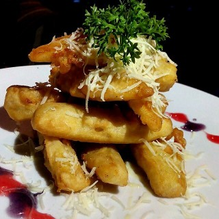 Banana Fritters - 's The Old Way Cafe (Riau)|Bandung