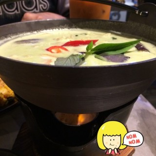 Green Curry With Chicken -  Upper Thomson / Thai In Town (Upper Thomson)|Singapore