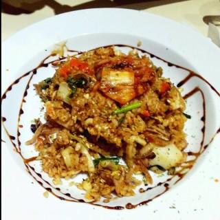 韩式风味墨鱼炒饭 - Kepong's Nelson Tan Café & Restaurant (Kepong) Klang Valley