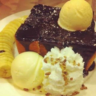 Chocolate Toast Banana -  dari After You (อาฟเตอร์ ยู) (คลองจั่น) di คลองจั่น |Bangkok