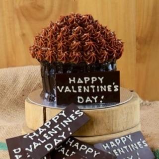 Chocolate valentine cake -  dari Cravings (Wack-Wack) di Wack-Wack |Metro Manila