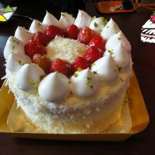 草莓水果蛋糕 - Yingge District's Tina廚房 (Yingge District)|New Taipei / Keelung