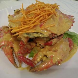 salted eggs crab - ในPunggol จากร้าน螃蟹之家 (Punggol)|สิงคโปร์