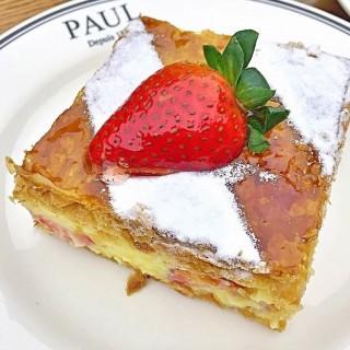 Millefeuille fraises - 位于ลุมพินี的Paul (พอล) (ลุมพินี) | 曼谷