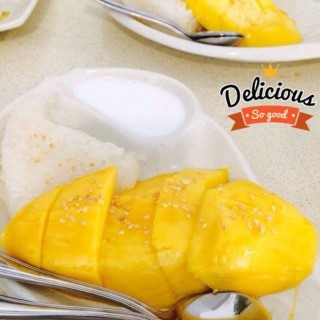 Mango sticky rice -  Geylang / Spicy Thai Thai (Geylang)|Singapore