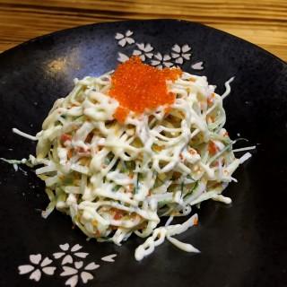 蟹籽沙律 - 位於的驚一日本料理餐廳 (石硤尾)   香港