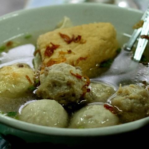 Bihun Bakso Campur - Es Kalamur & Bakso Matador - Meat Balls - Mangga Besar - Jakarta