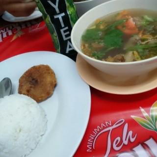 Nasi Sop Iga -  dari Kantin (Ir. Haji Juanda (Dago Bawah)) di Ir. Haji Juanda (Dago Bawah) |Bandung