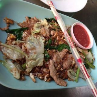 สุกี้แห้งหมู - Thung Song Hong's ข้าวผัดปูเมืองทอง (Thung Song Hong)|Bangkok