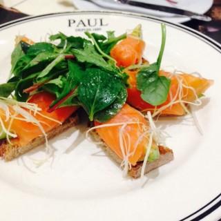 Tarte tartin ay salmon  - 位于ลุมพินี的Paul (พอล) (ลุมพินี) | 曼谷