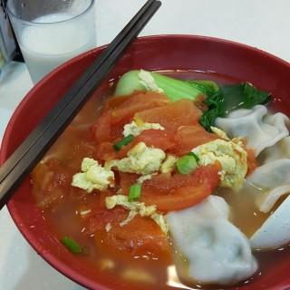 蕃茄蛋餃子麵 - 位於大圍的婆婆家 (大圍) | 香港