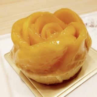 Mango Tart - ใน沙田 จากร้านPatisserie Tony Wong (沙田)|ฮ่องกง