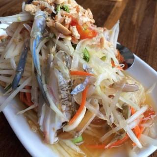ส้มตำปูม้า - Pathum Wan's Laem Charoen Seafood (Pathum Wan)|Bangkok