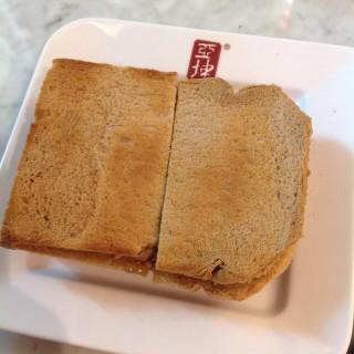 Butter kaya toast - Lum Phi Ni's Ya Kun Coffee & Toast (Lum Phi Ni)|Bangkok