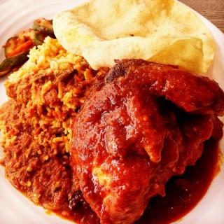 Chicken Nasi Briyani - Bugis's Nasi Padang - Food Junction (Bugis)|Singapore