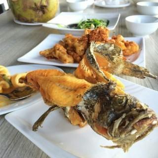 Gurame Goreng Kering -  dari Seafood City Bandar Djakarta (Pluit) di Pluit |Jakarta