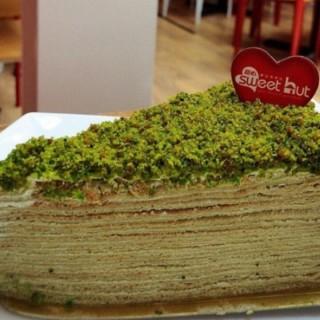 green tea french mille crepe -  dari Sweet Hut (Pantai Indah Kapuk) di Pantai Indah Kapuk |Jakarta