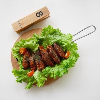 Grilled hot wings -   / fArt tArtz Cafe (Upp Changi) Singapore