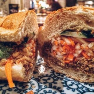 vietnamese sandwich bahn mi - Thamrin's Howdy Hello Hola Hey Ho! (Thamrin) Jakarta
