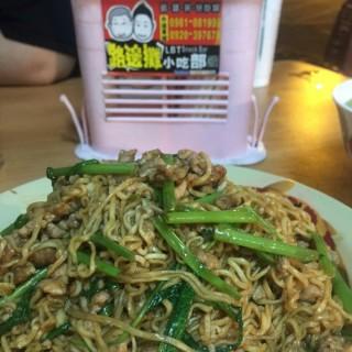 牛肉炒泡麵 -  斗六市 / 斗六路邊攤小吃部 (斗六市)|雲林/嘉義