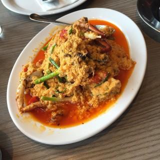 Curry Crab - Wang Mai's Somboon Seafood (Wang Mai)|Bangkok