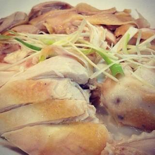 Hongkong steamed chicken - Wolter Monginsidi's Bubur Kwang Tung (Wolter Monginsidi)|Jakarta