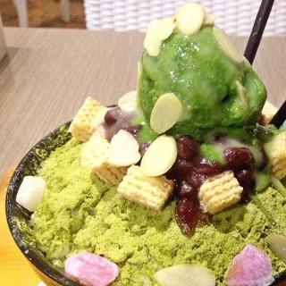 Green Tea Bingsu -  dari The Cup Rice & Noodle (Pantai Indah Kapuk) di Pantai Indah Kapuk |Jakarta