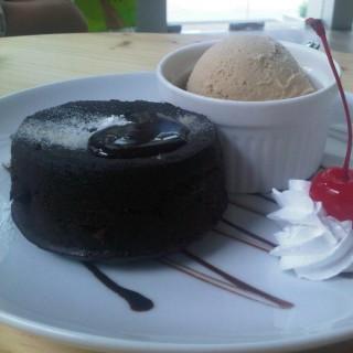 Choco Lava🍫🍦 -  dari Island Creamery (Serpong) di Serpong |Jakarta