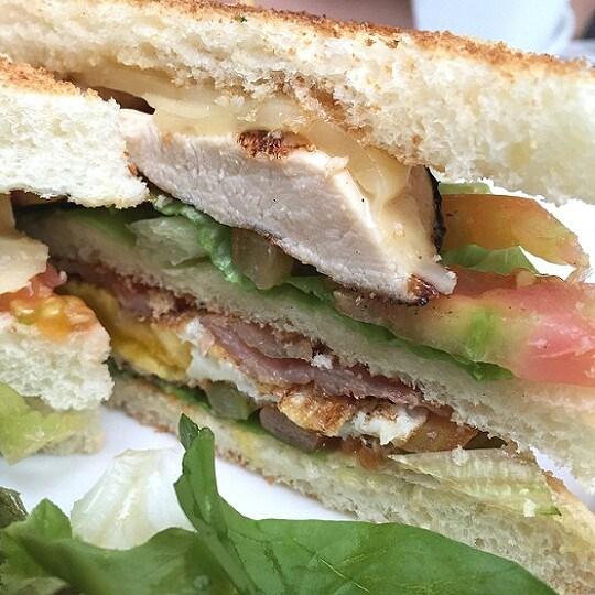 Club Sandwich with Chicken - Union - Dating / Couple - Senayan - Jakarta